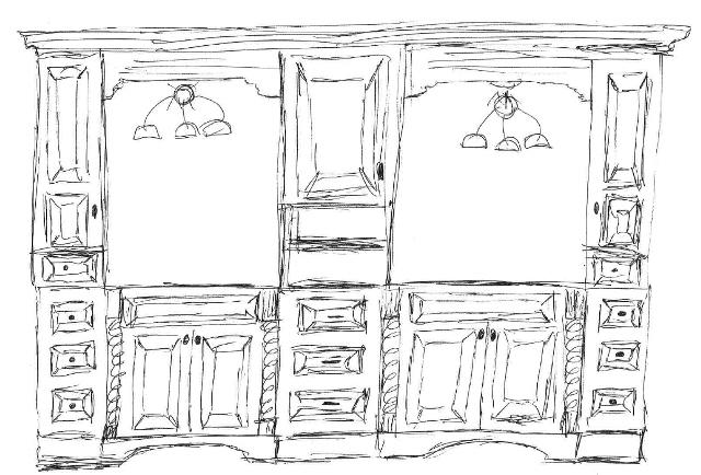 Vanity Sketch