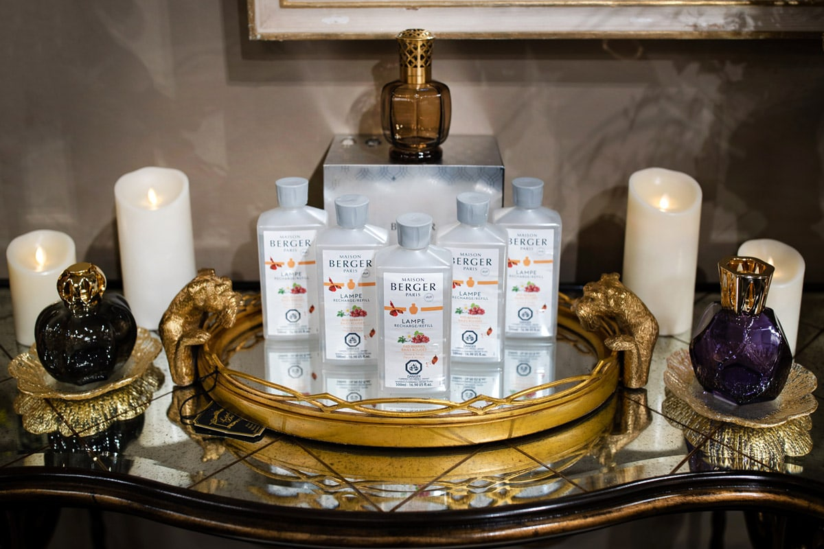 Luxury Lampe Berger Diffusers and Air Purifying frangrances