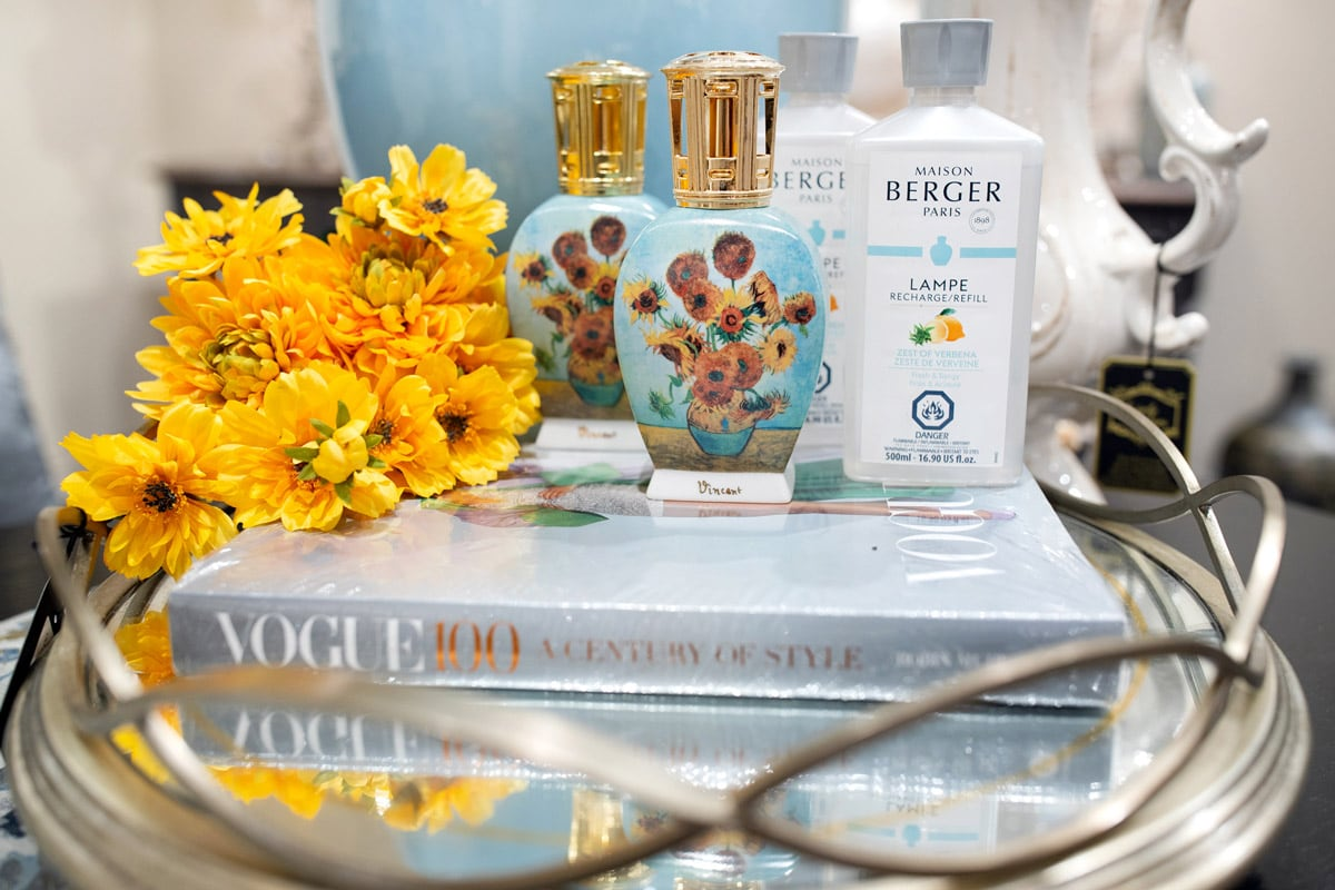 Luxury Lampe Berger Vincent Van Gogh Diffusers and Air Purifying Lamps