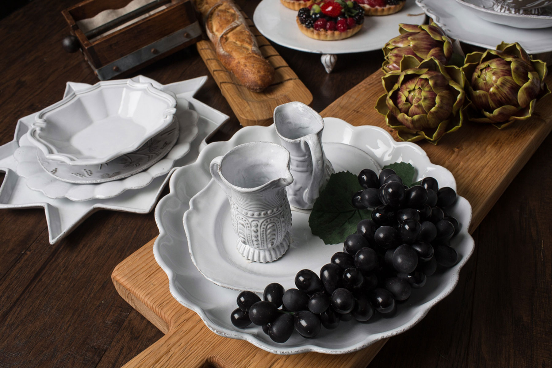 astier de villatte handcrafted french dinnerware. Black Bedroom Furniture Sets. Home Design Ideas