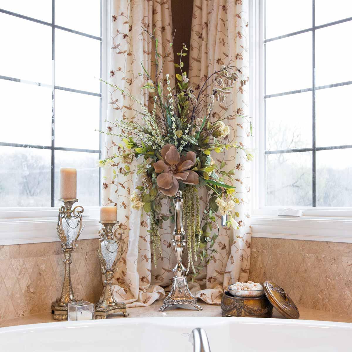 Bathroom Floral Arrangements