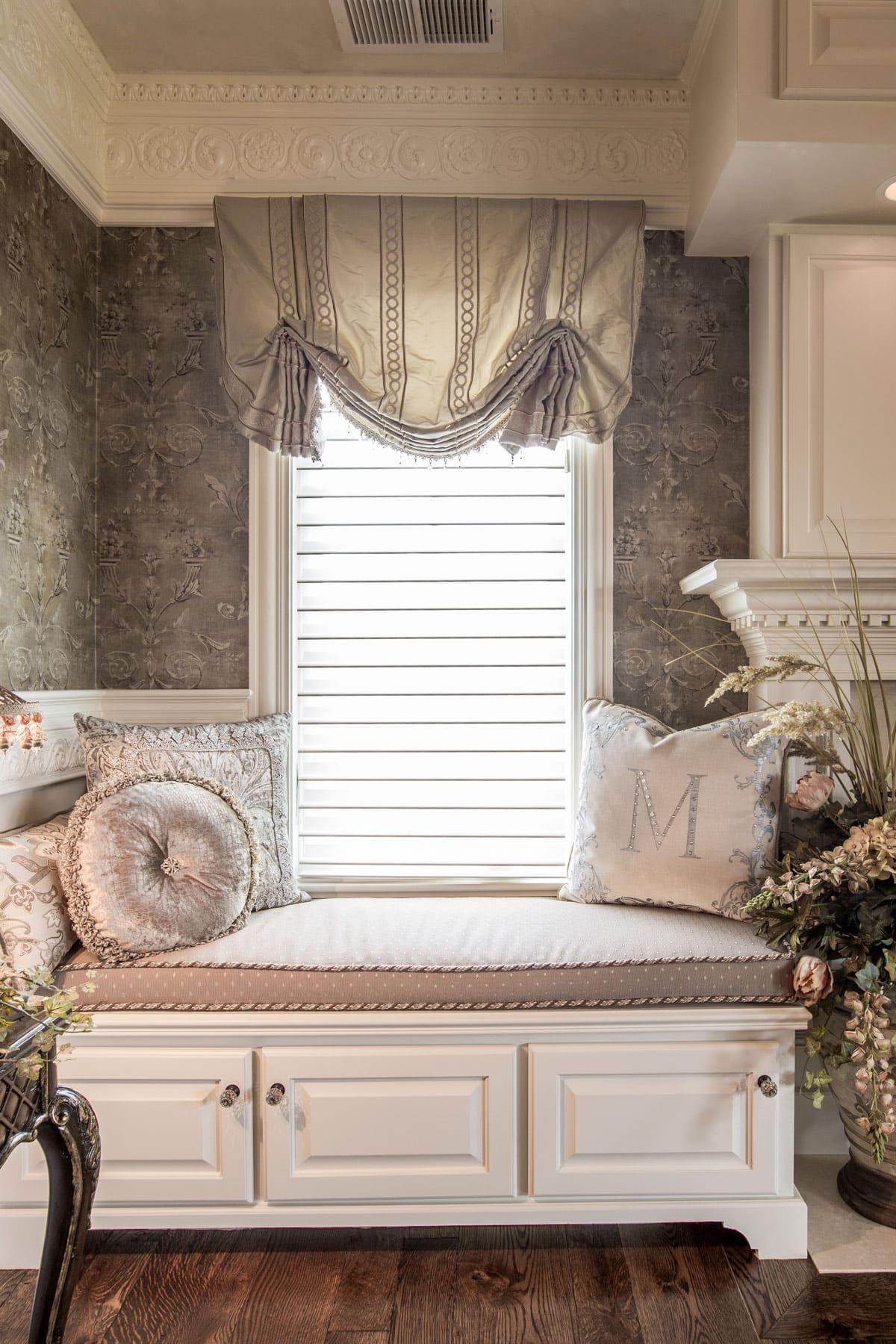 Bedroom Window Treatment Design