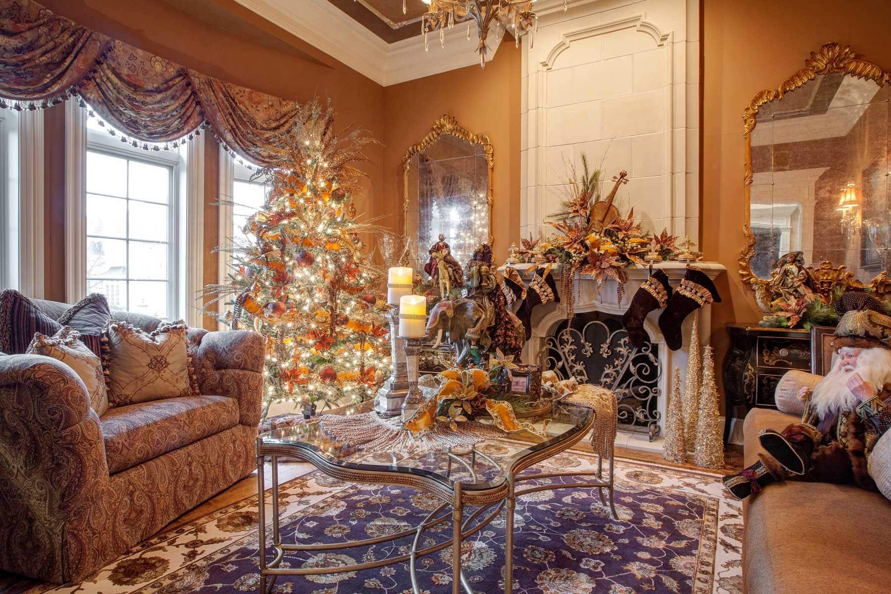 Christmas Living Room Holiday Decor
