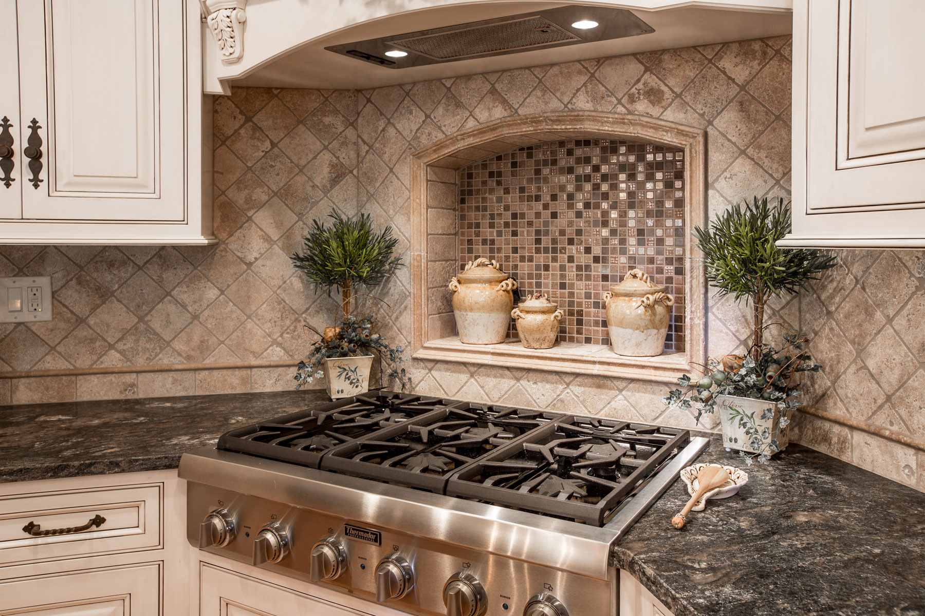 Kitchen Backsplash Decorative Designs