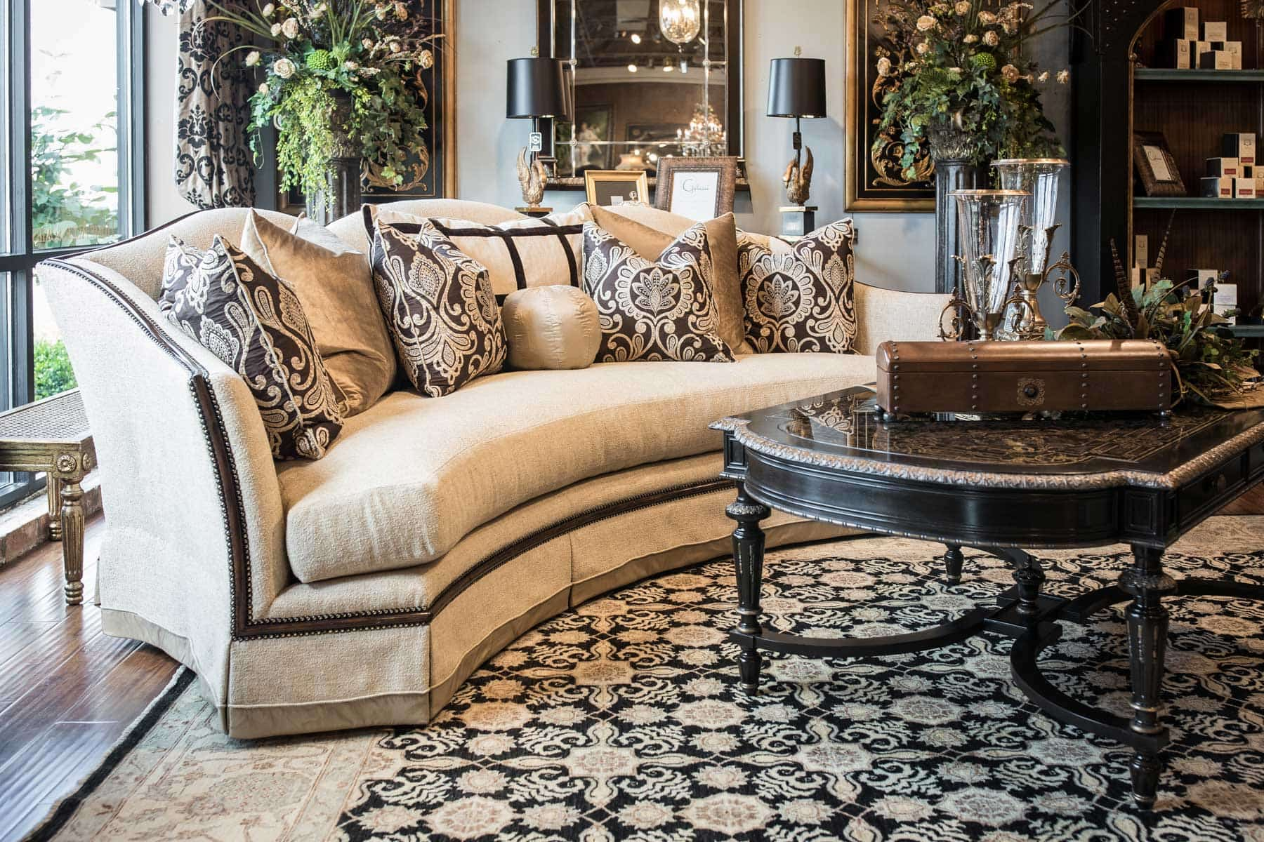 Marge Carson Dining Tables Marge Carson Sofa Hotornotlive