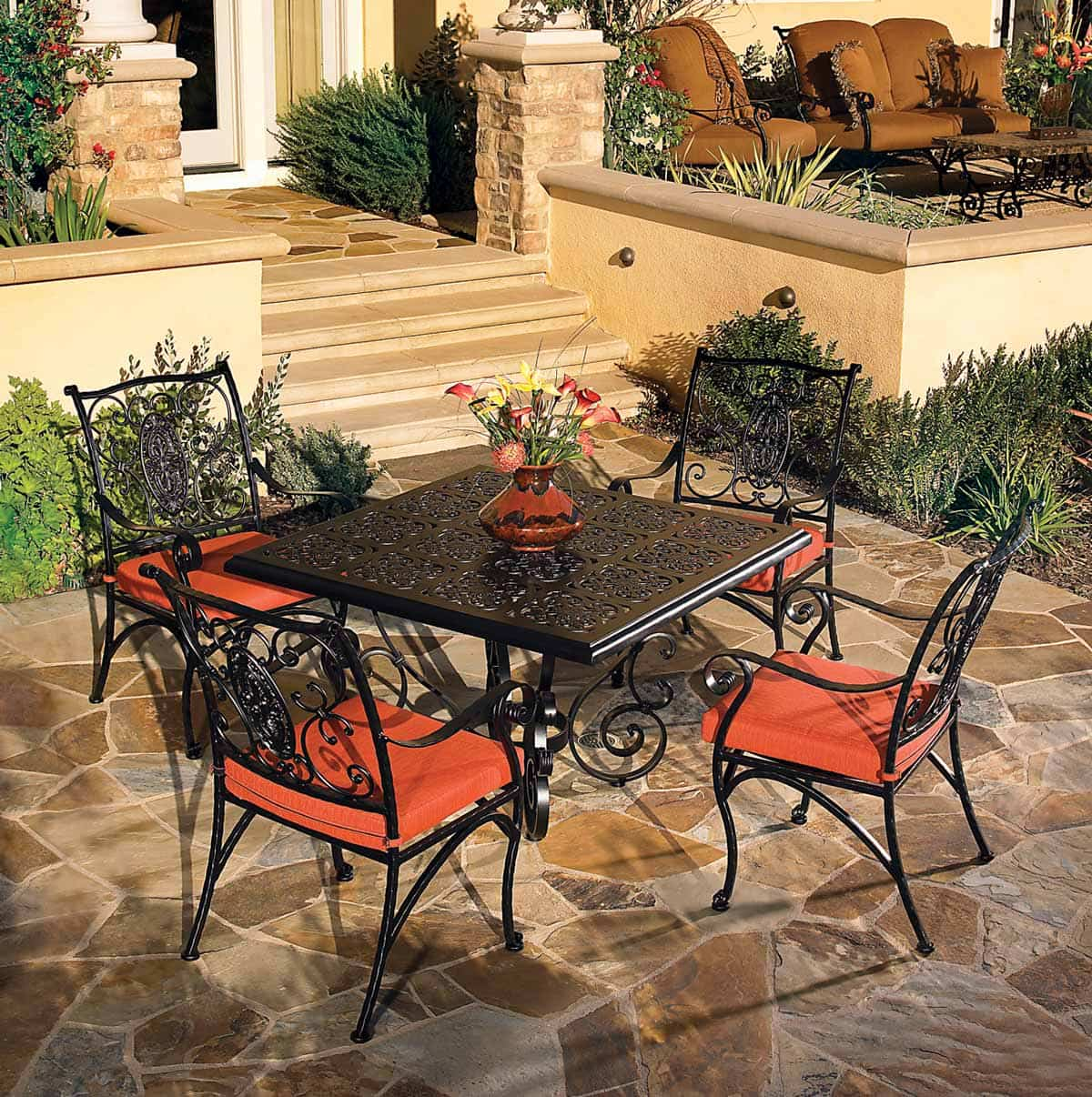 Patio Furniture Iron Outdoor Patio Furniture Patio Furniture