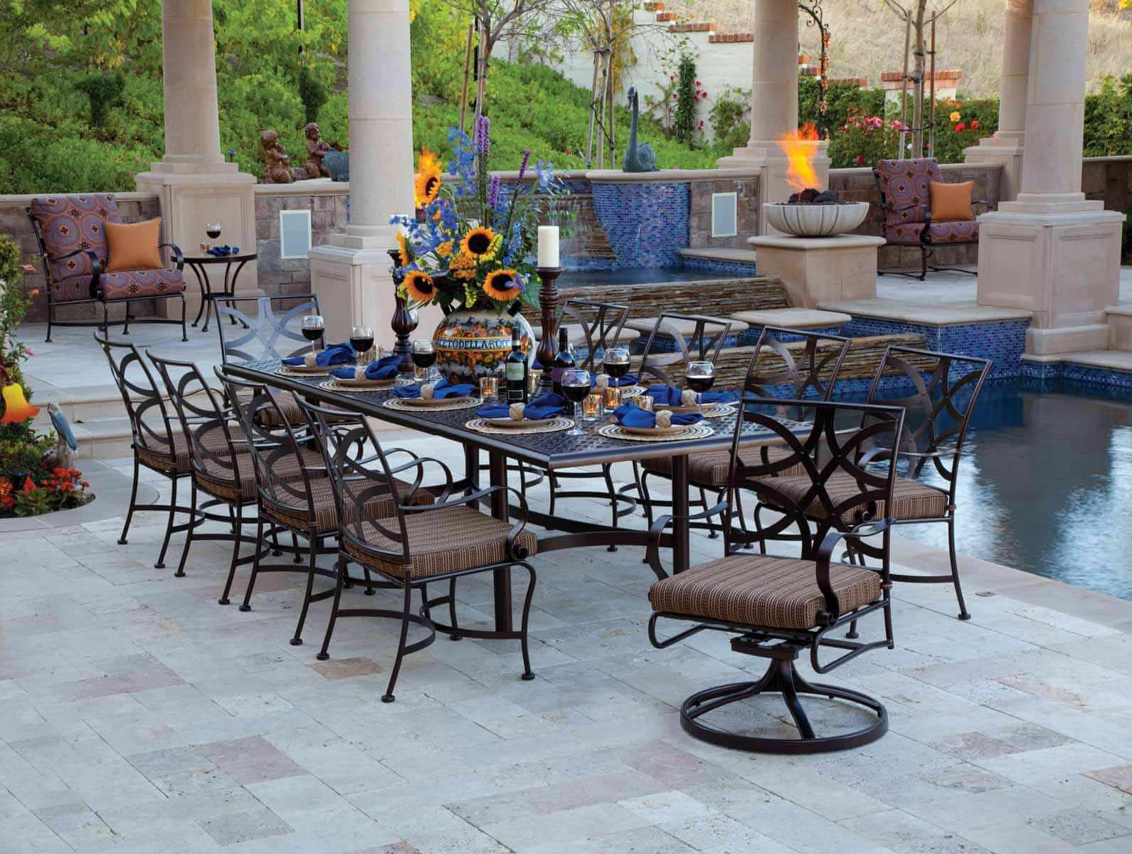 Outdoor patio furniture linly designs for Luxury outdoor furniture