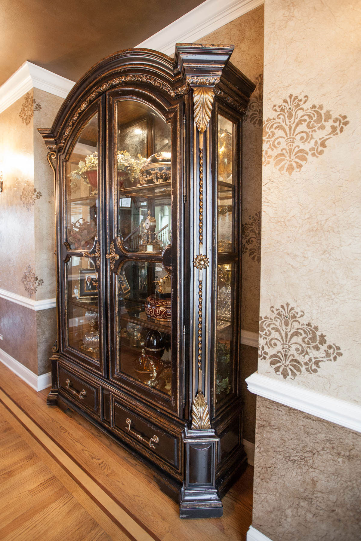 Marge Carson Dining Room Display Cabinet