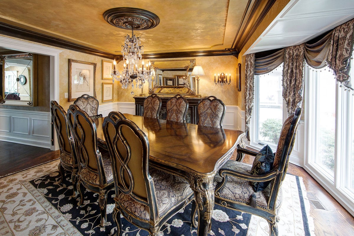 Marge Carson Dining Room Interio Design