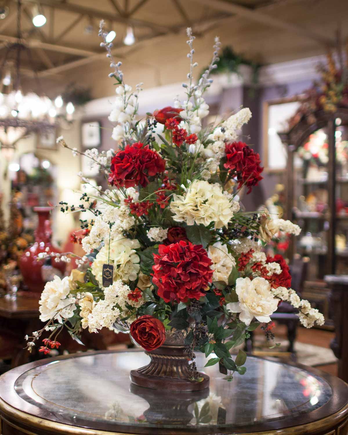 Silk floral seasonal decor linly designs silk flower centerpiece arrangement mightylinksfo Image collections