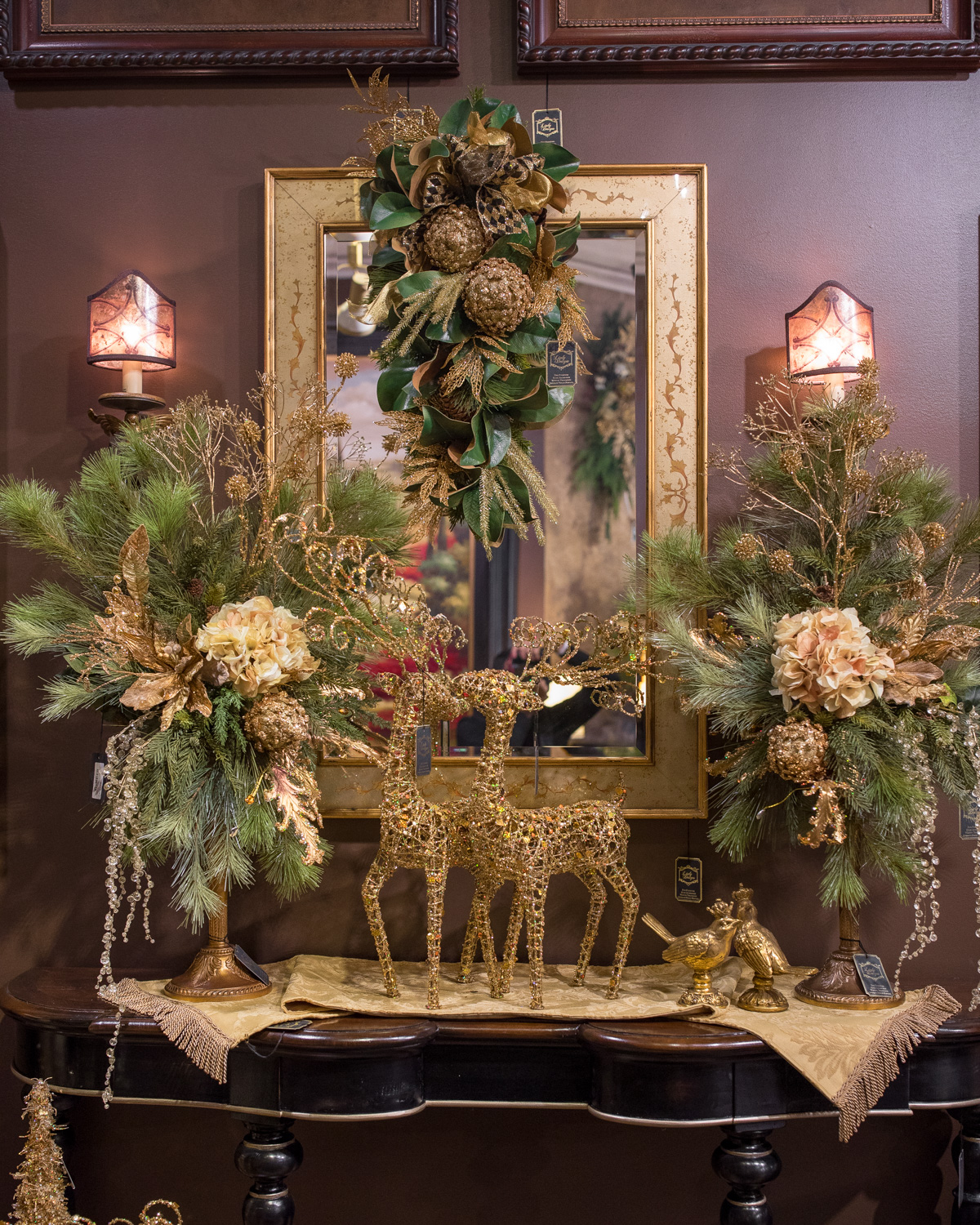 Fall Floral Arrangements 2016 Holiday Open House Linly Designs