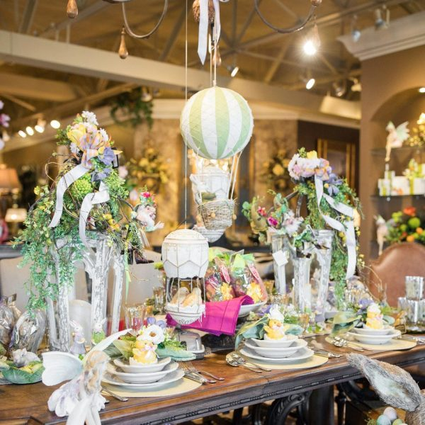 spring decorations, 2017 Open House: Blooming with Spring Decorations