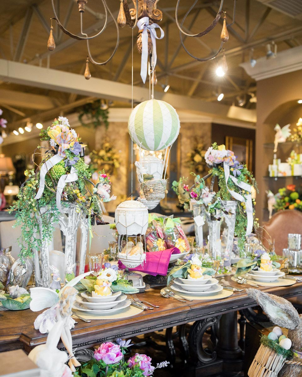 Home Decor: 2017 Open House: Blooming With Spring Decorations