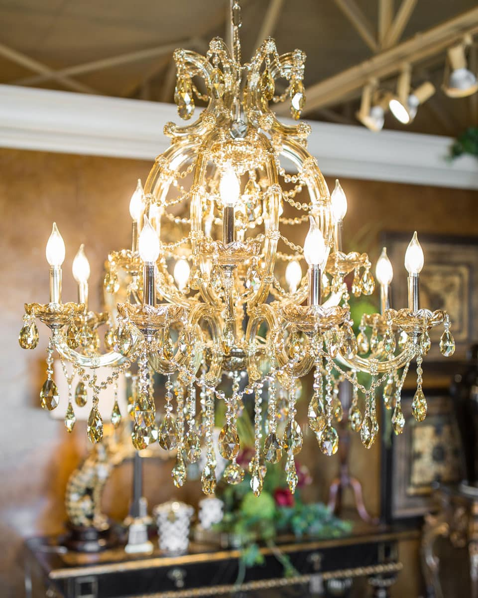 Elegant amber crystal chandelier linly designs elegant amber crystal chandelier aloadofball Image collections