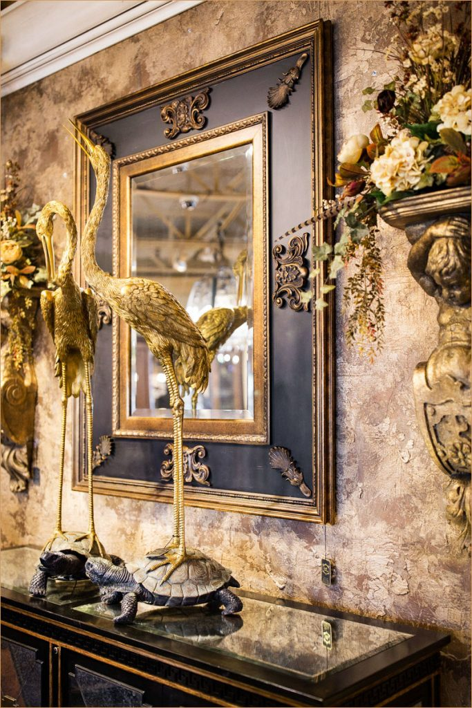 Large Gold Wall Mirror large-black-gold-wall-mirror