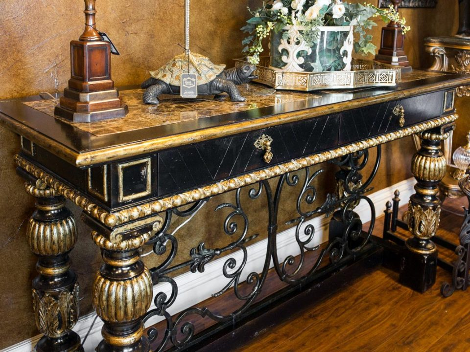 Marge Carson Console Table