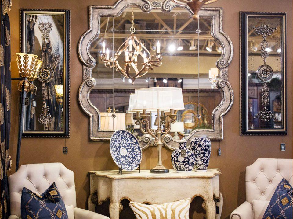 Unique luxury Mirror set