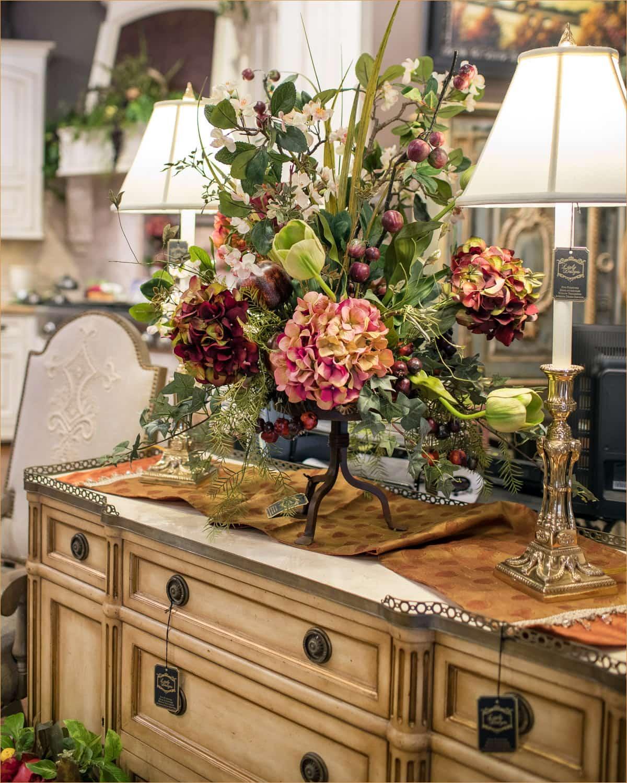 Silk Floral Arrangements Home Decor 3