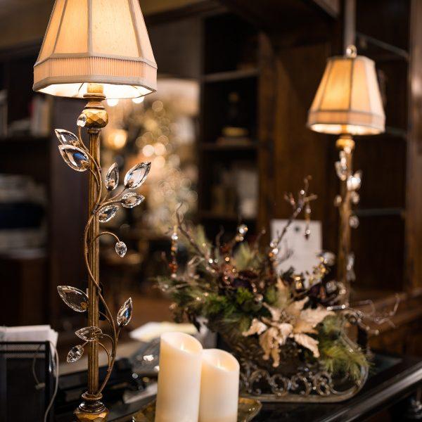 Fine Art Gold Crystal Lighting