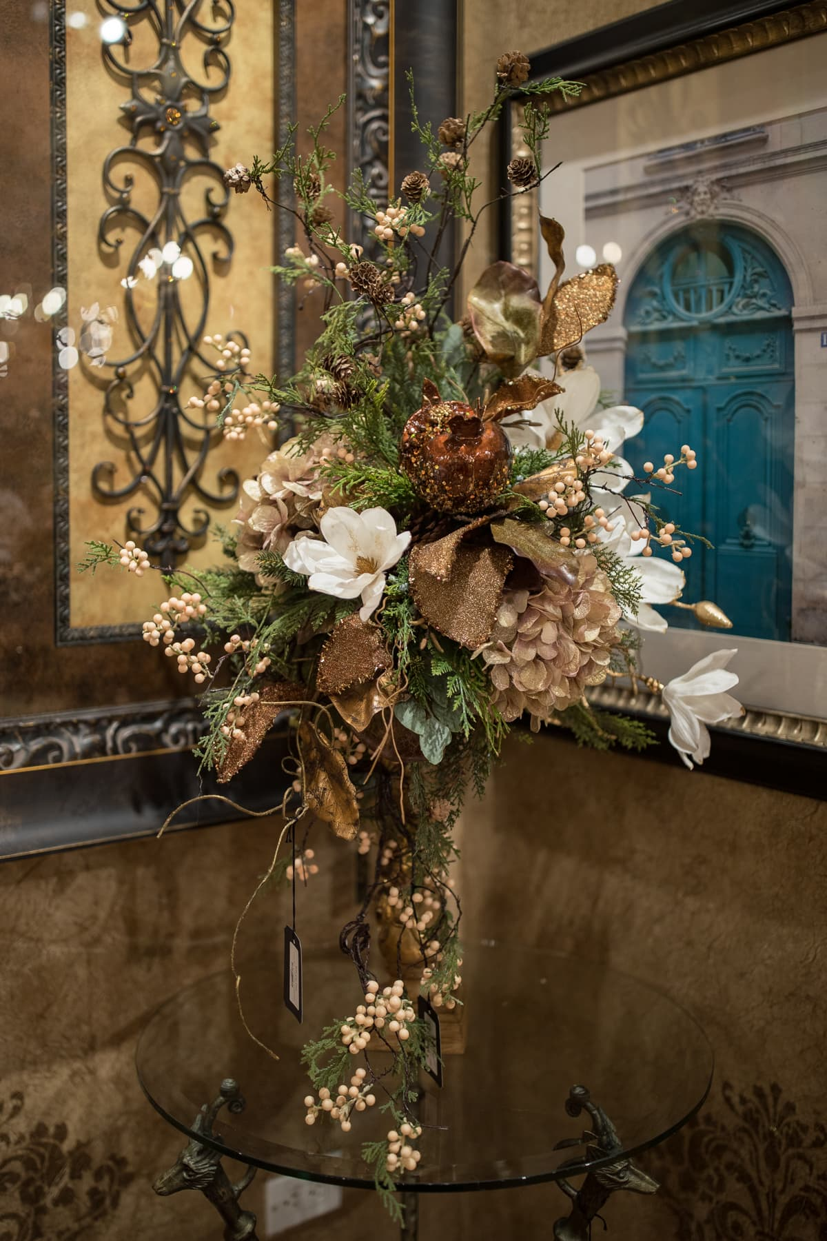 Handcrafted Flower arrangement