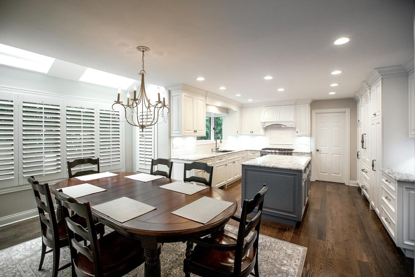 White Custom Kitchen Cabinetry Design and Remodel