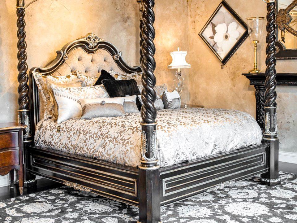 Custom Marge Carson Luxury Bed