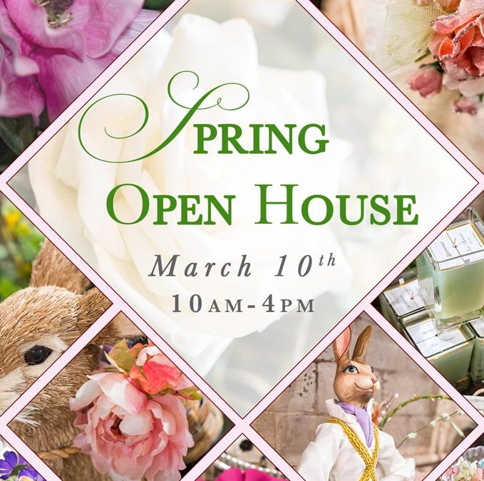 , Spring Open House and Grand Reveal