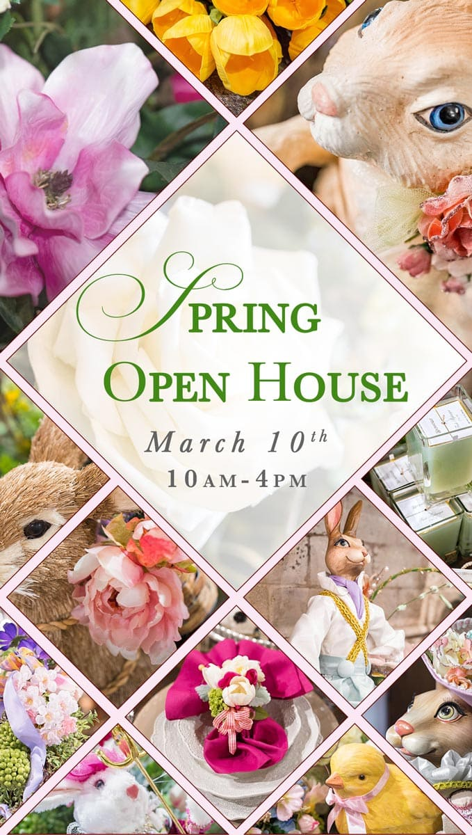 Spring Open House and Grand Reveal