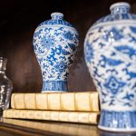 Hand Painted Porcelain Oriental Home Decor