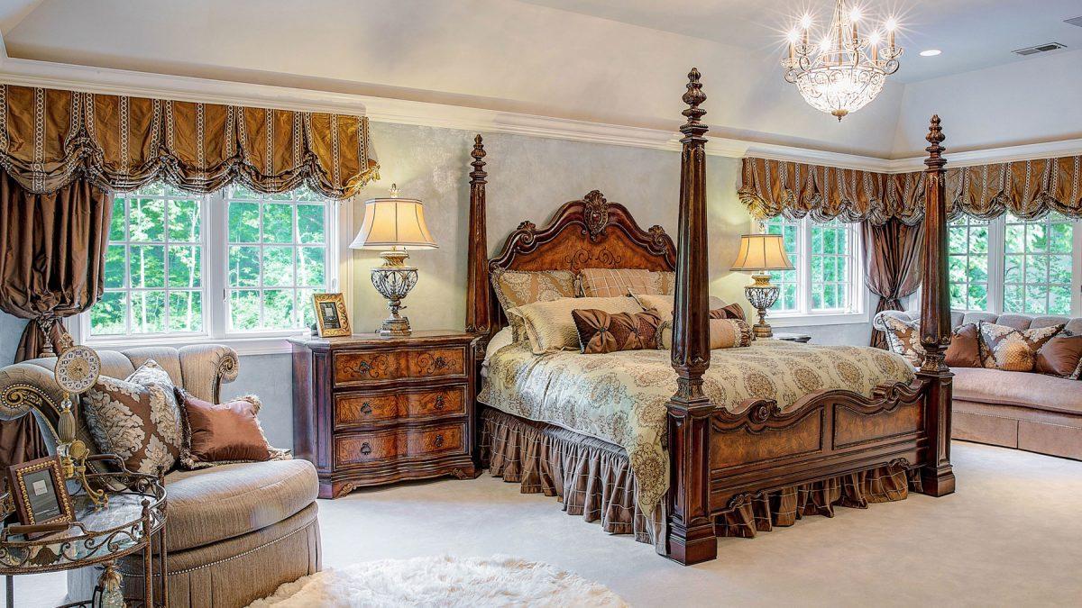 Luxury Bedroom Interior Design Chicagoland