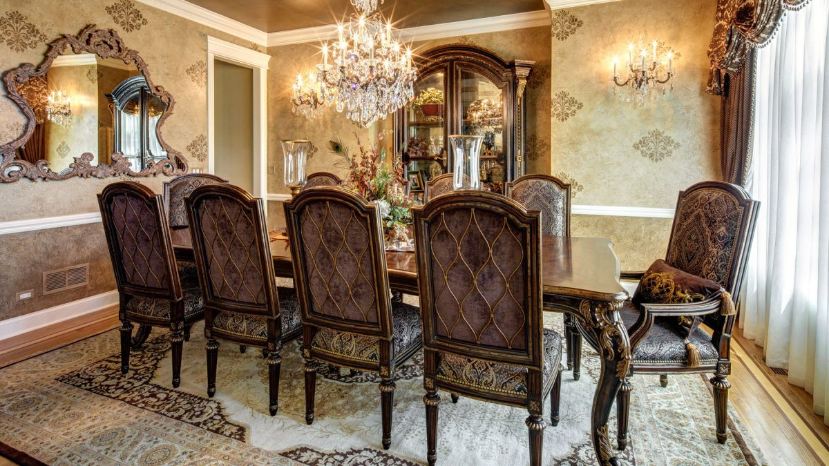 Luxury Marge Carson Dining Room
