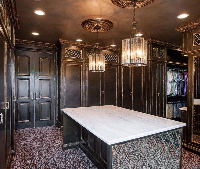 Luxury Mens Master Closet Design
