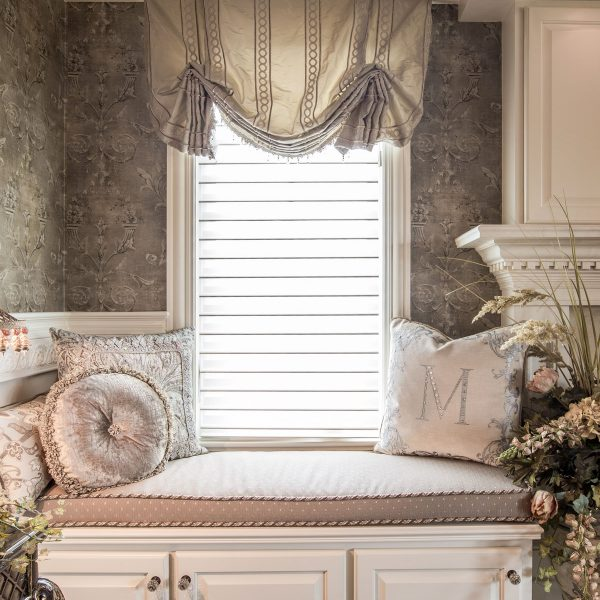custom window treatments master bedroom