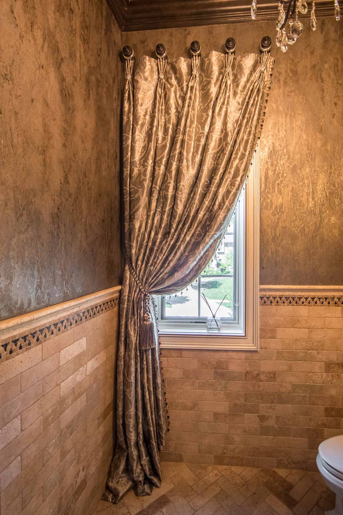 Custom Window Treatments Created & Installed by Our Drapery Artisan