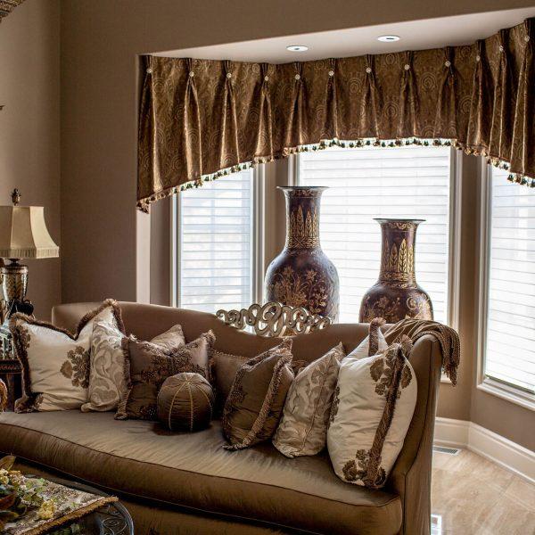 custom window treatments linly designs. Black Bedroom Furniture Sets. Home Design Ideas