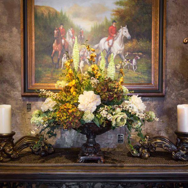 , Custom Silk Floral Arrangements