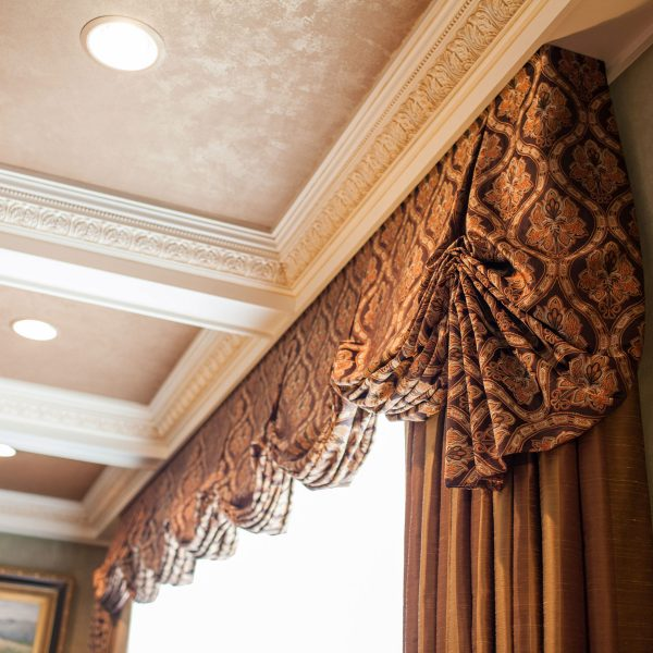 custom window treatments detail