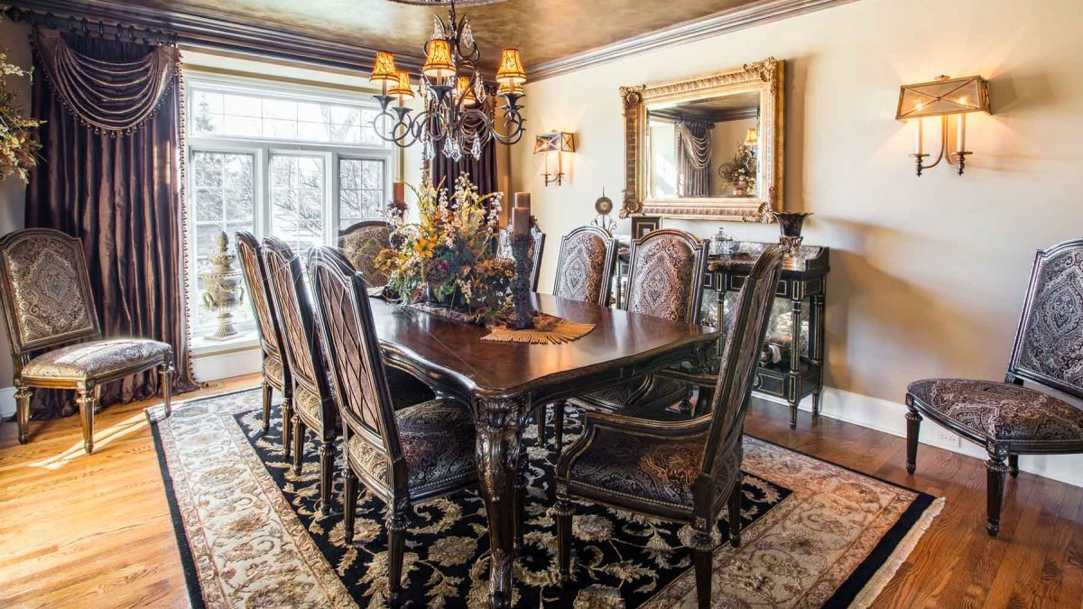, South Barrington Dining Room Project