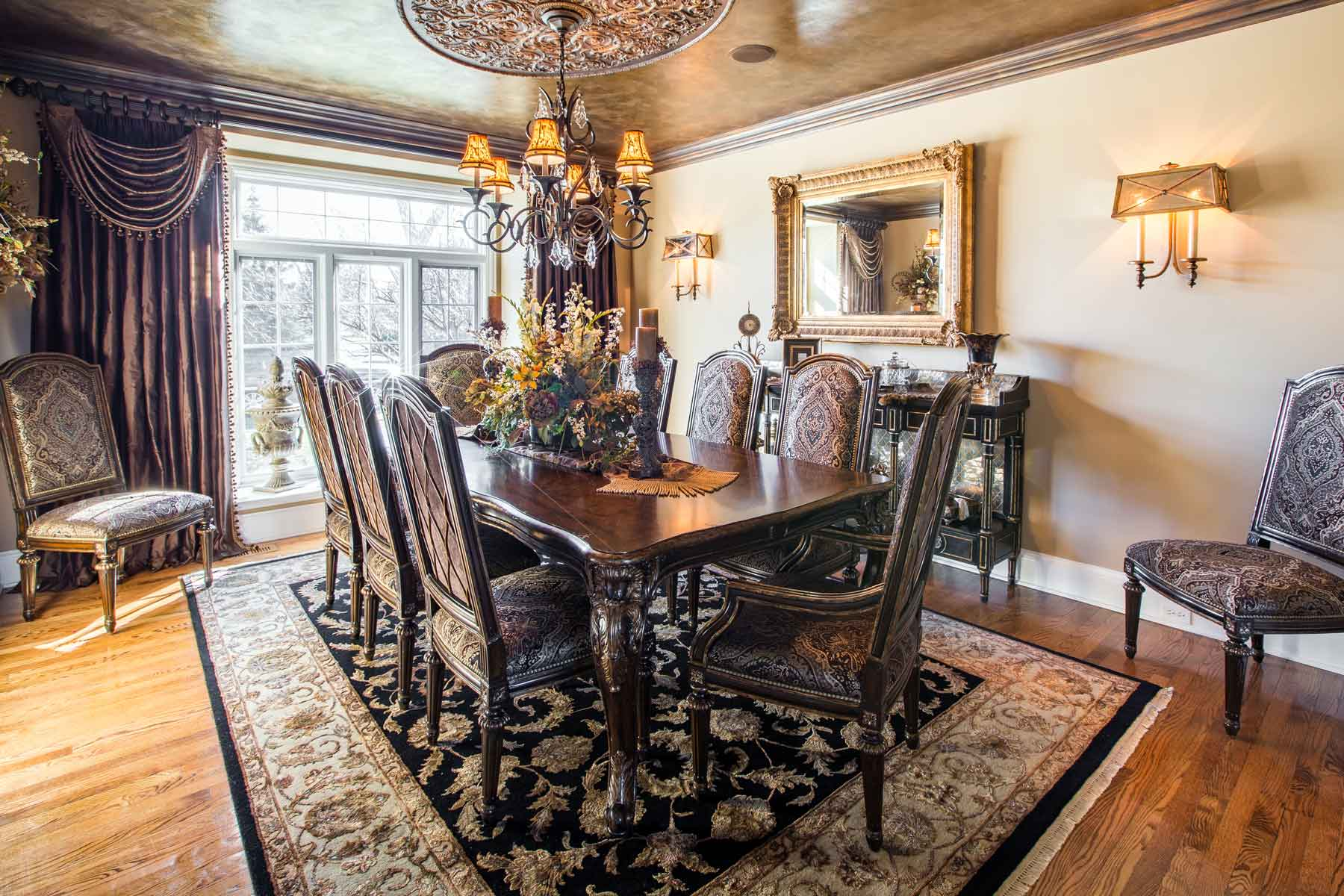 South Barrington Dining Room Project - Linly Designs