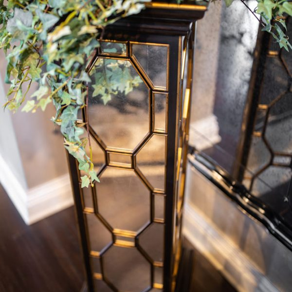 , Mirrored Home Accents