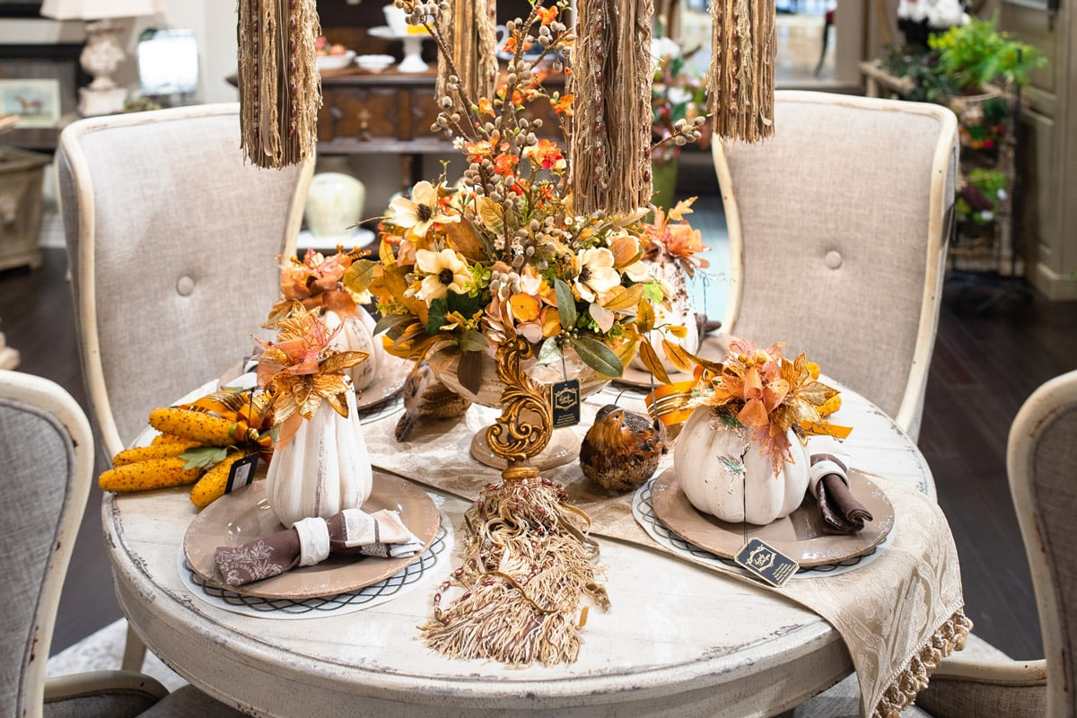 Fall Home Decor Table Setting