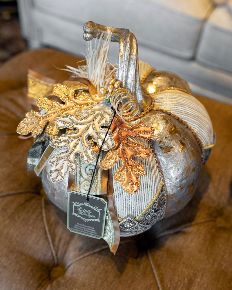 unique fall decorated pumpkins