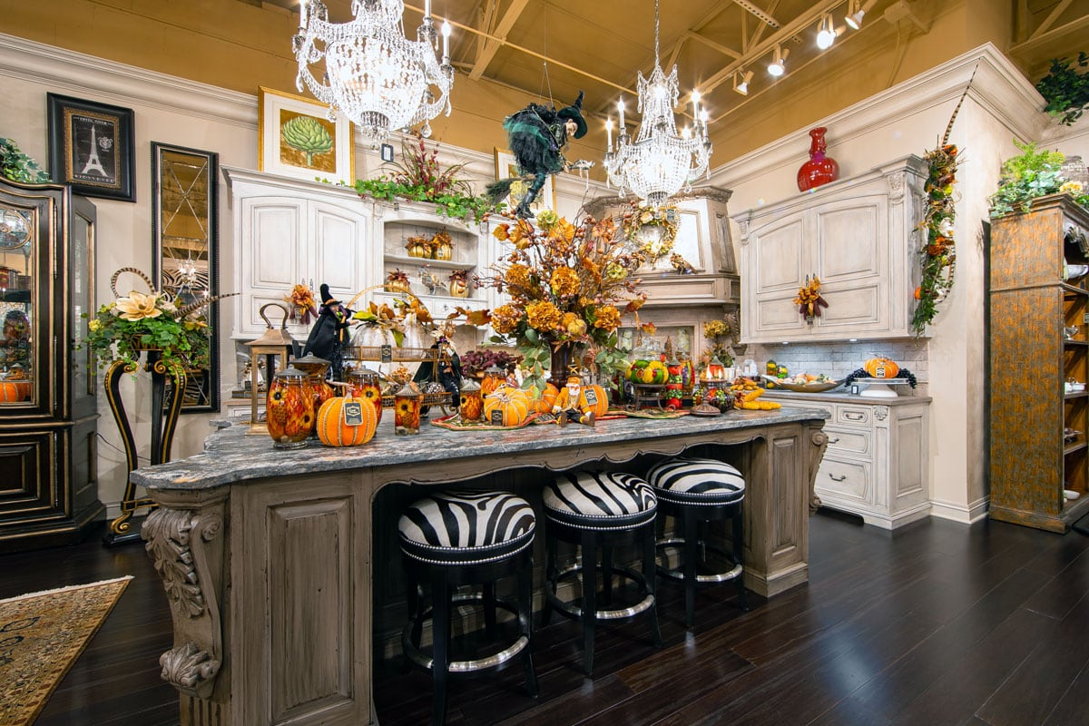 Fall Home Decor And Handcrafted Floral Arrangements