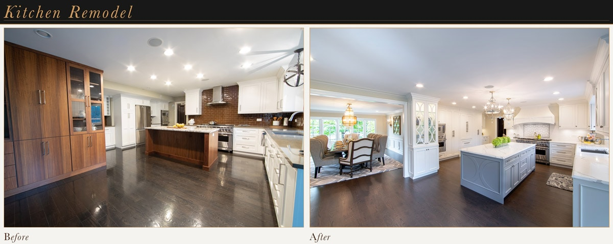 Custom French Kitchen Remodel
