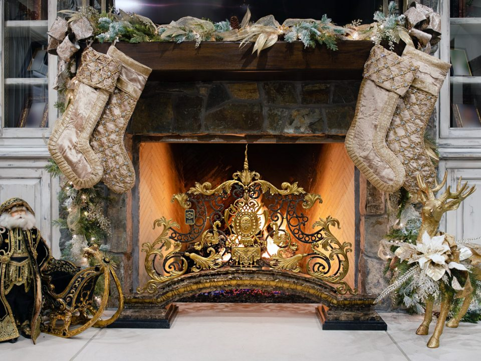 Luxury Home Fireplace Screens