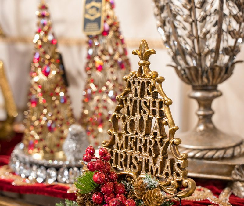 Luxury Christmas and Holiday Decor