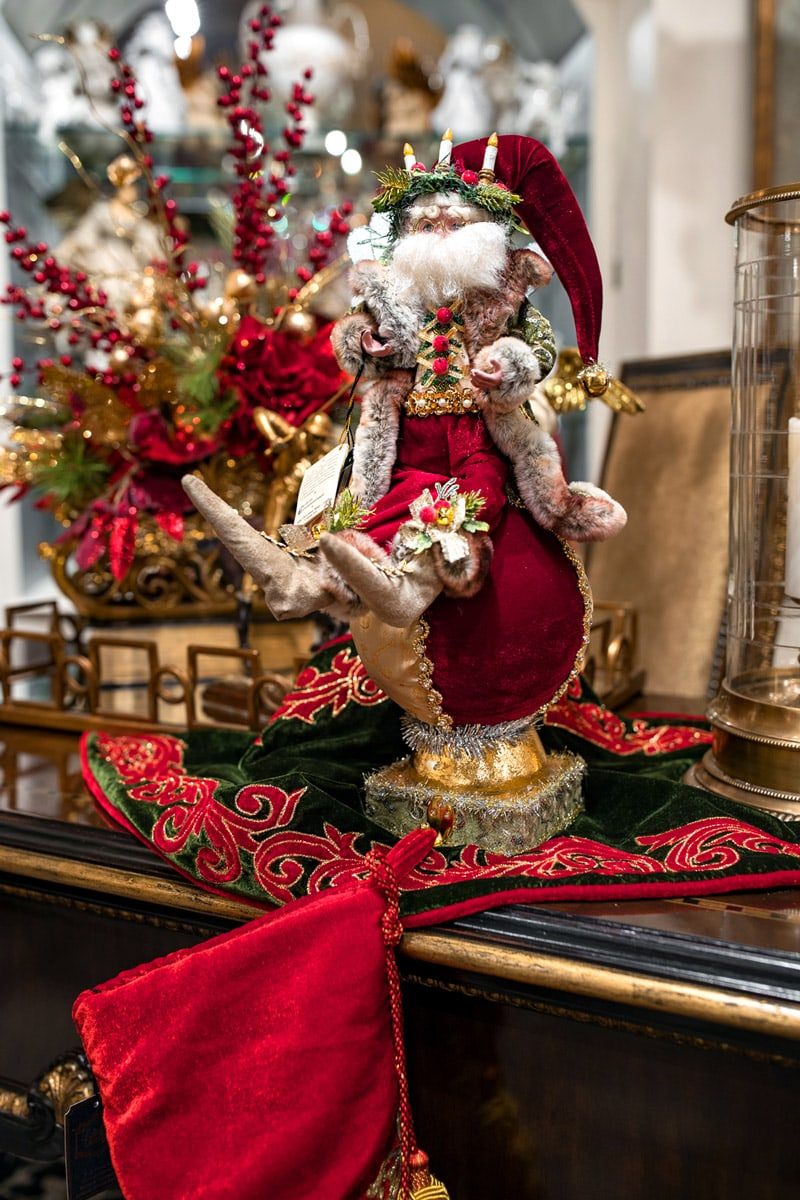 , Christmas Stocking Holders and Custom Garland Holiday Decor