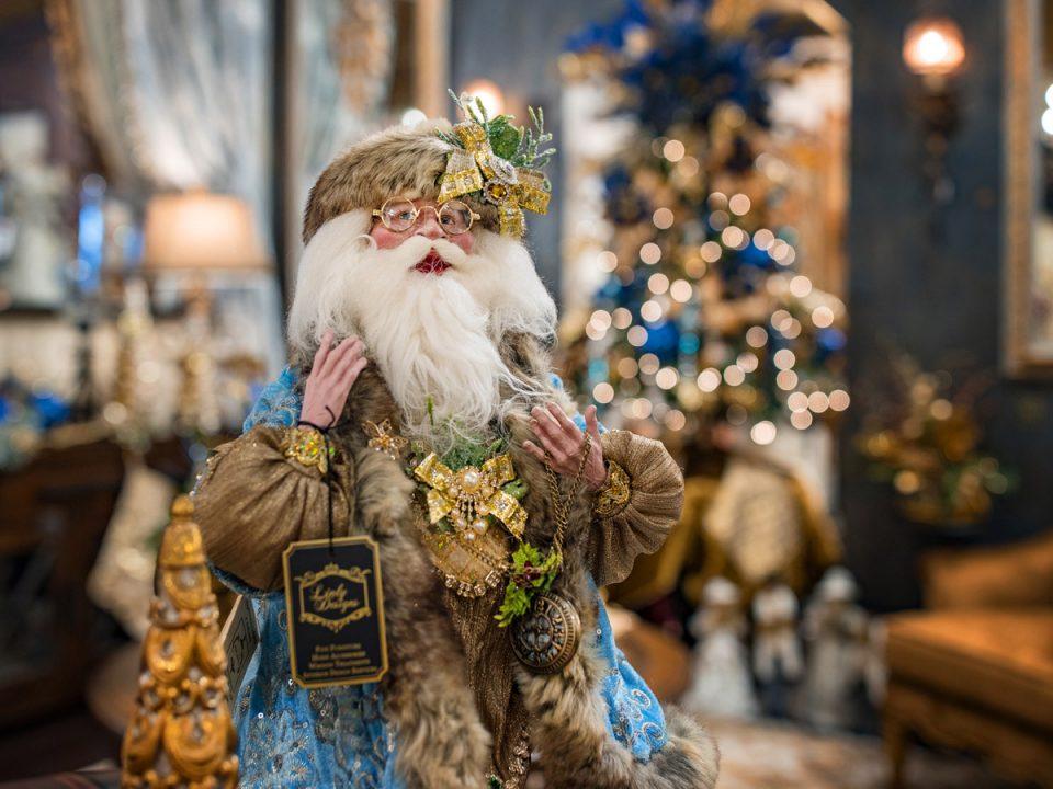 unique santa claus luxury christmas home decor 9