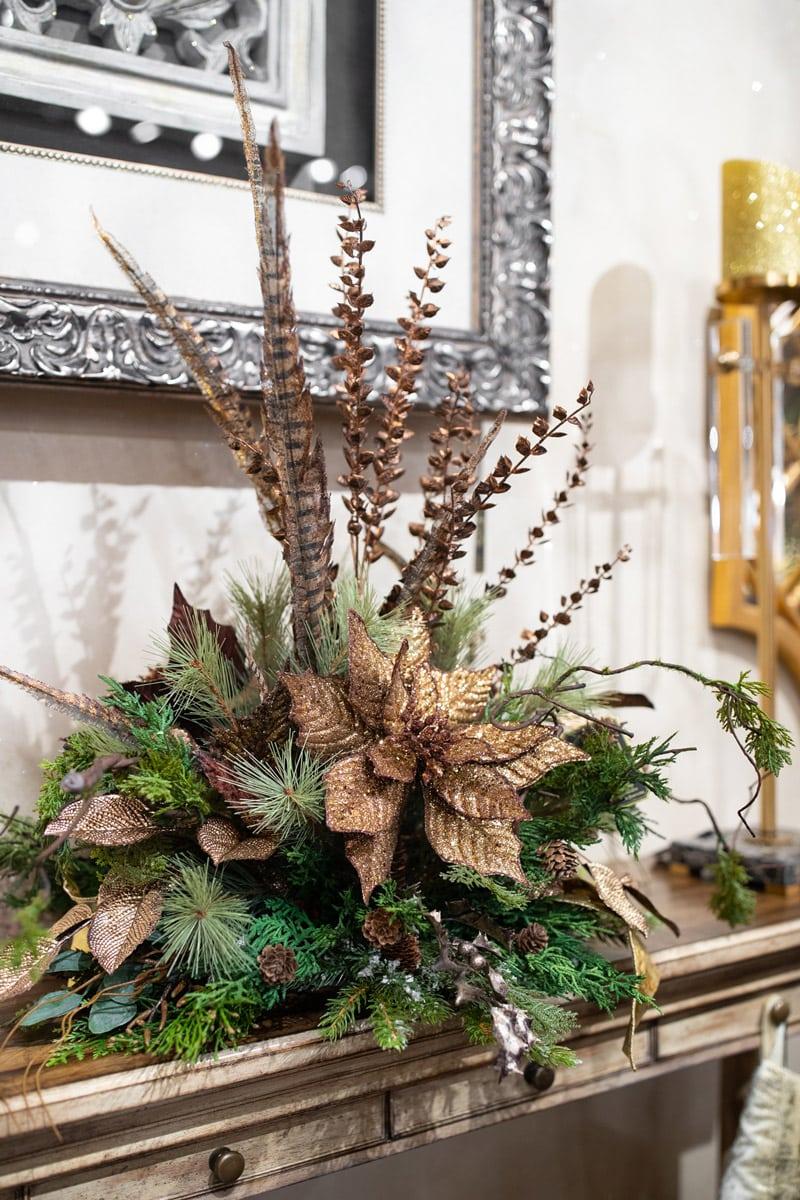 Custom Holiday Silk Floral Arrangements