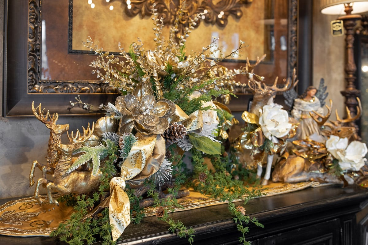 Custom Holiday Silk Floral Arrangements
